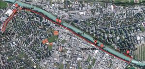 Streckenführung Halbmarathon