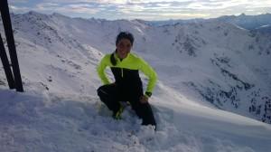 Brooks begleitet mich durch den Winter - 15.12.13 Sonnenspitze
