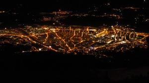 Innsbruck bei Nacht, Silvester 2013