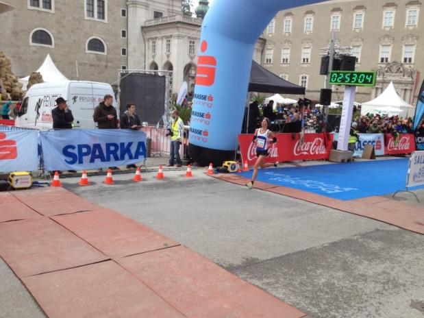 """Salzburg Marathon, 04.05.2014: """"Vizestaatsmeisterin"""" – Wie das klingt…"""