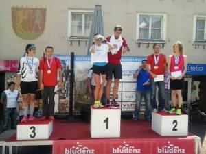 Tourgesamtsieg Alpenregion Bludenz Tour  29.05.-01.06.14