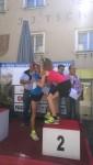Siegerehrung mit Kathi Schichtl der Zweitplatzierten