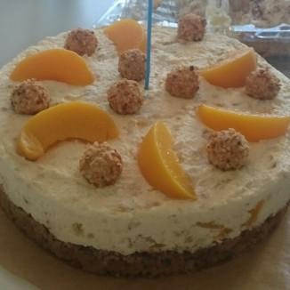 Pfirsich-Giotto Torte
