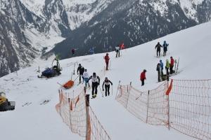 Die letzten Meter ... Foto: http://www.sc-griesambrenner.at Schiclub Gries a.B.
