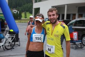 Tagessieger: Martin Mattle & Katharina Zipser. Copyright: Franz Vogt