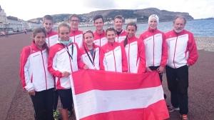 Österr. Berglaufnationalteam in Wales