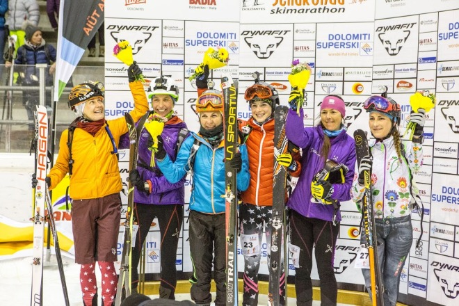 Sellaronda Ski marathon - Flower Ceremony