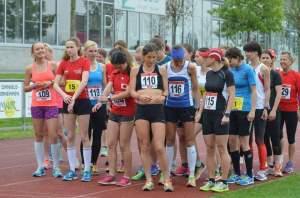 Start 5000 m Bahn Schwaz