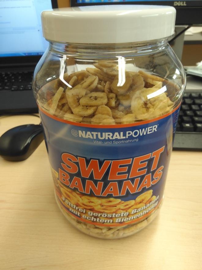 Sweet bananas 87 % Kohlenhdrate ;-) mjami
