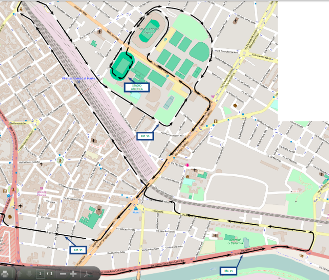strecke_marathonFirenze km 25-35
