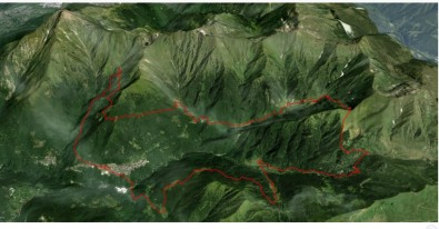 Strecke WM Berglauf Langdistanz 2017