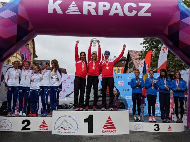 WM Berglauf Langdistanz 2018 Karpacz/Polen: TEAM GOLD